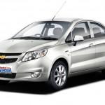 Chevrolet Sail Rent a car